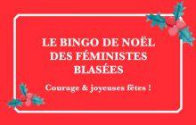 Le bingo de Noël des féministes blasées