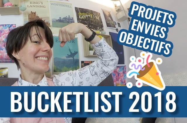La rédaction partage ses projets de 2018 en vidéo!