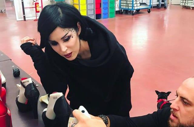 Kat Von D sort une ligne de chaussures avec un compartiment secret