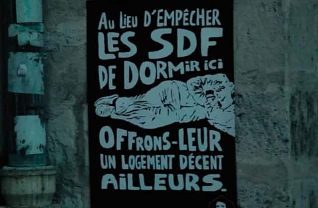 La « douche anti-SDF» et autres dispositifs dénoncés par la Fondation Abbé Pierre