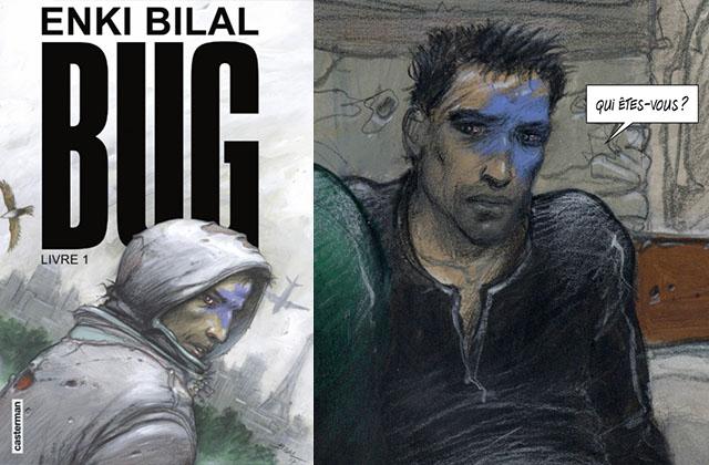 Bug, la BD d'Enki Bilal autour d'une société fondée sur le virtuel qui fait froid dans le dos