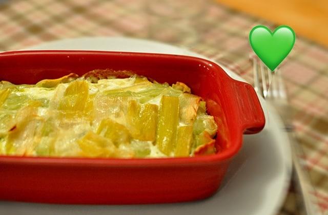 Recette du gratin de poireaux facile, rapide et savoureux