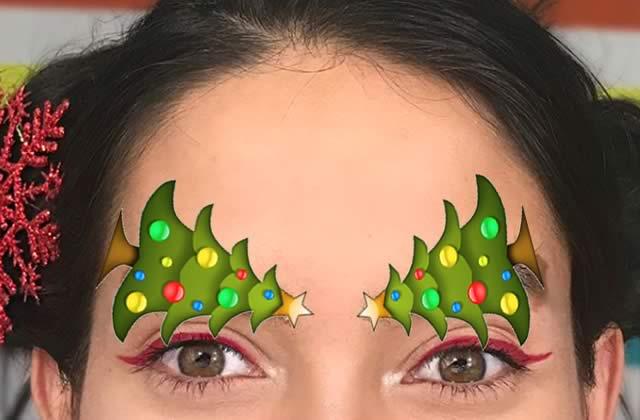 Exclamons-nous «brow-ho-ho», car voici les sourcils en forme de sapin de Noël!