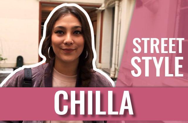 Street Style —La rappeuse Chilla a ramené sa meilleure veste et son plus bel accessoire!