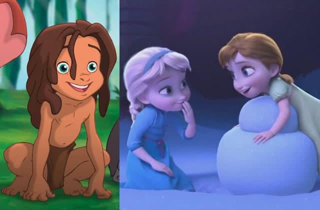 Tarzan est le frère d'Elsa et Anna (oui, vous avez bien lu)