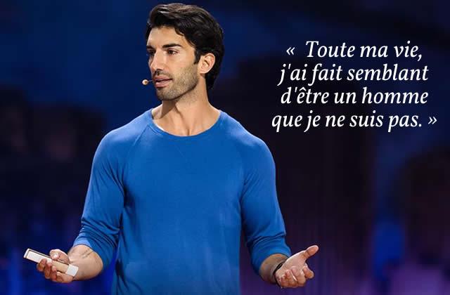 Justin Baldoni (Jane the Virgin) explore sa masculinité dans un formidable TED Talk