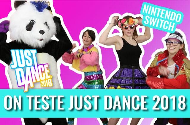 Lucie, Élise et Louise ont sué pour tester Just Dance 2018sur Switch!