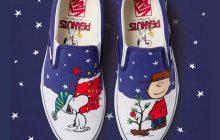 Snoopy attend sagement le Père Noël dans cette dernière collection de Vans