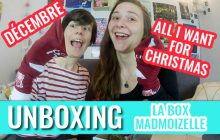 [BOX] Louise et Elise te dévoilent la box de décembre en vidéo !