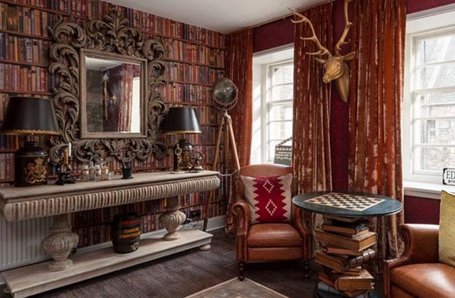 Rêve les yeux grands ouverts en louant cet appartement inspiré d'Harry Potter