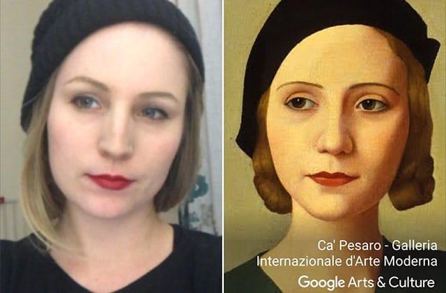 L'appli pour trouver ton sosie dans une œuvred'art est sortie en France!