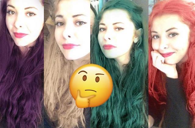 Je suis devenue accro à cette nouvelle application qui colore les cheveux