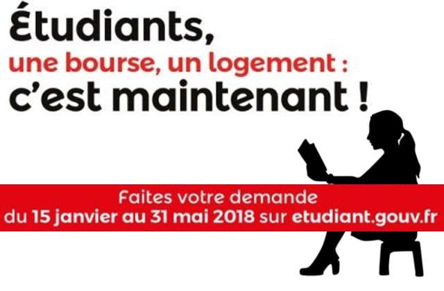Demande de bourses, logements étudiants: dernier jour pour l'année 2018-2019!