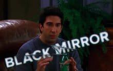 Celui où Ross invente un épisode de Black Mirror, avec 18 ans d'avance