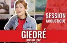 GiédRé chante «Dans ma loge» en session et ça vaut le détour!