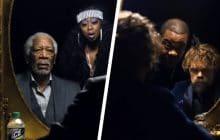 Morgan Freeman et Peter Dinklage s'affrontent dans un battle de rap légendaire !