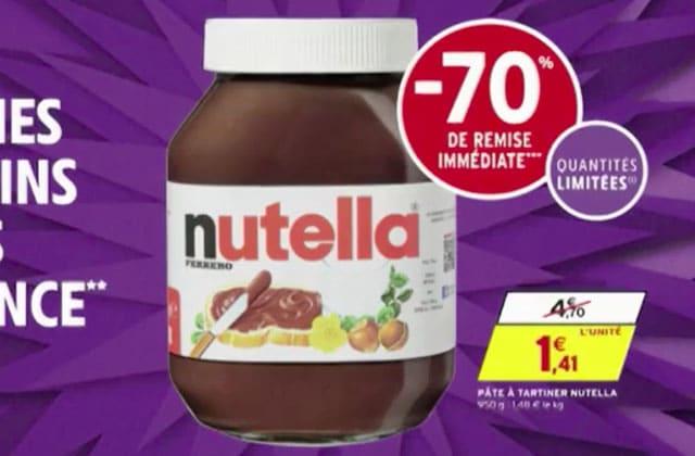 Le pot de Nutella en promo à 1€41, un aperçu de la fin du monde