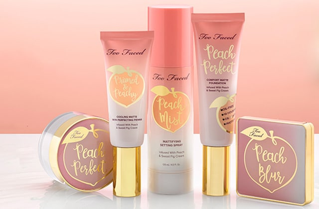 Peaches and Cream de Too Faced, la nouvelle gamme qui fleure déjà le printemps