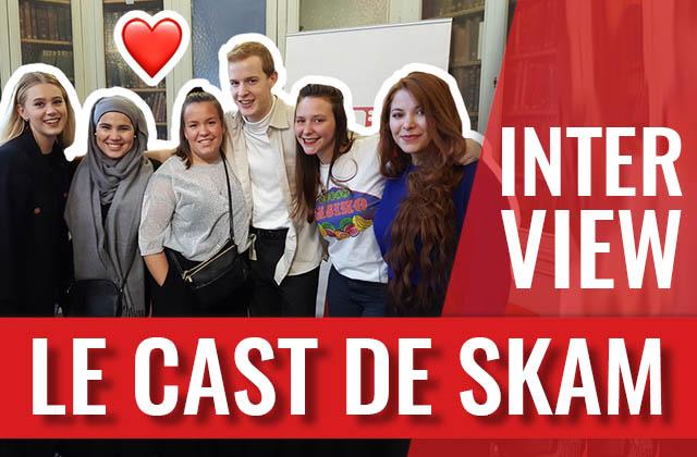 Interview avec le casting de SKAM, la série norvégienne à voir absolument