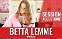 Betta Lemme, la star montante de l'Italie, fait sa session acoustique