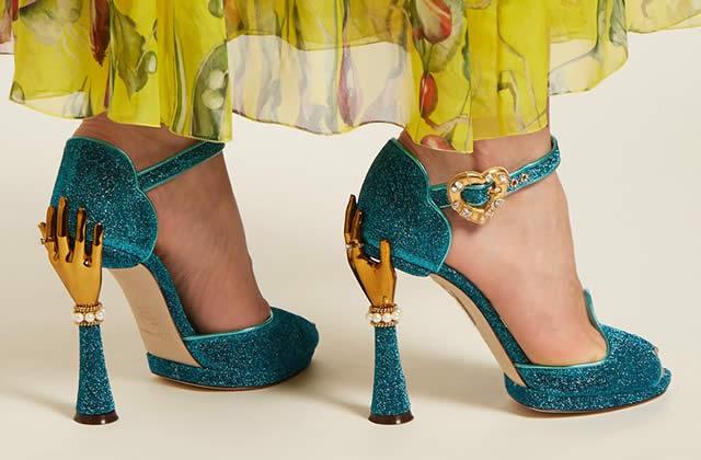 Les magnifiques chaussures de Dolce & Gabbana pour le printemps/été 2018