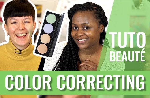 Le color correcting, cette technique merveilleuse pour unifier ton teint