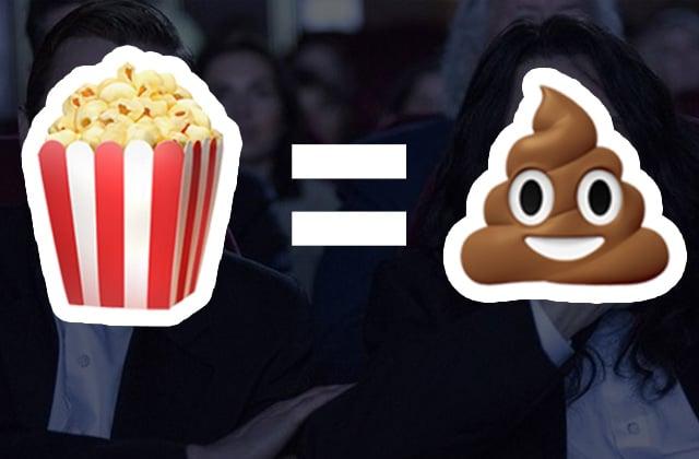 6 trucs INSUPPORTABLES que les gens font au cinéma