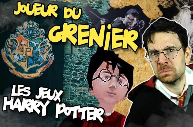 Les jeux Harry Potter testés par le Joueur du Grenier, votre fou rire du jour