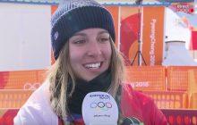 Julia Pereira, snowboardeuse de 16 ans, explose un record aux JO 2018
