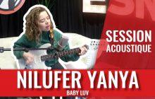 La londonienne Nilüfer Yanya interprète Baby Luv en session
