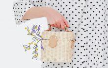Le sac du printemps/été 2018, c'est le panier !