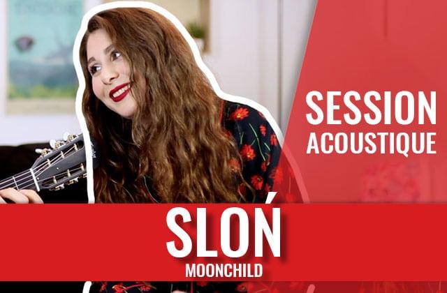 Laisse SLON t'hypnotiser avec sa voix cristalline en session acoustique