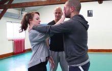 Sophie Riche prend un cours de self-defense (et de confiance en soi!) avec Franck Ropers