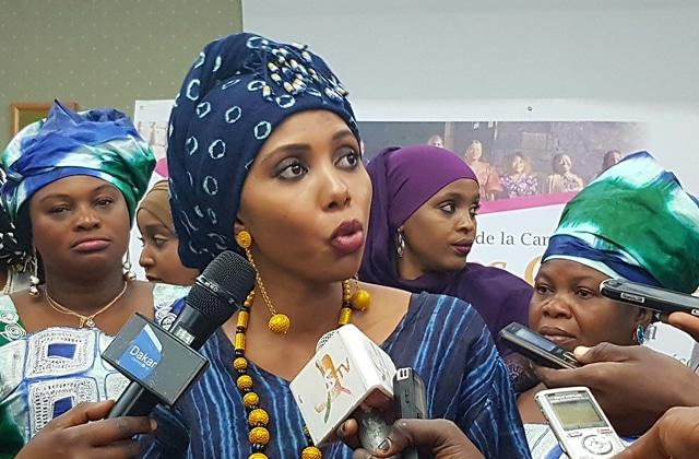 Jaha Dukureh, lancement du Big Sisters Movement, Dakar 2018