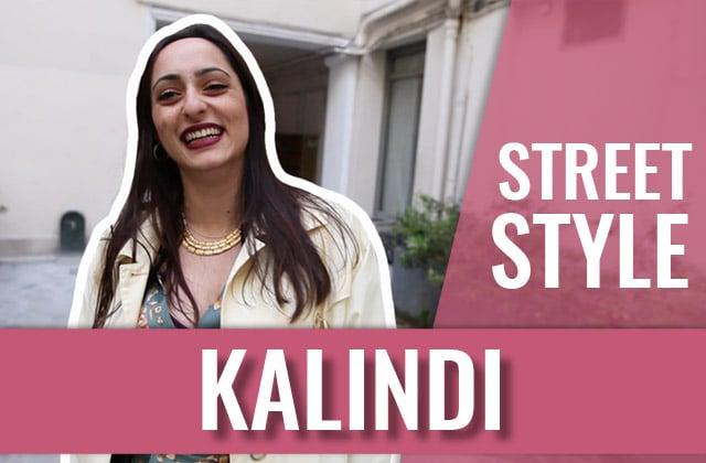 Kalindi fait son Street Style (la meilleure personne !)