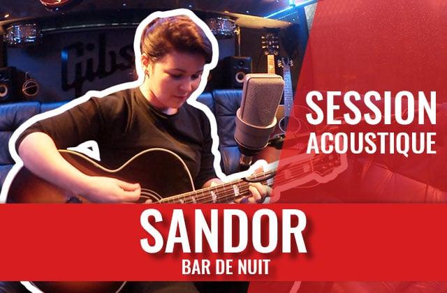 Session acoustique —La voix profonde de Sandor t'embarque dans un Bar de Nuit