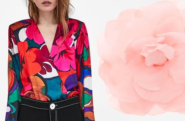tenues fleuries printemps 2018