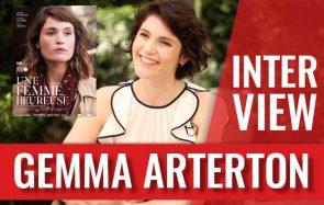 Gemma Arterton parle de maternité et de liberté, pour la sortie d'Une femme heureuse