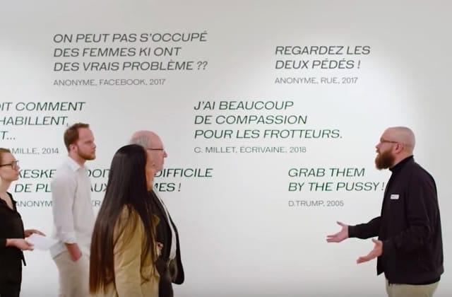 Le Musée du Harcèlement de Rue ouvre enfin ses portes!