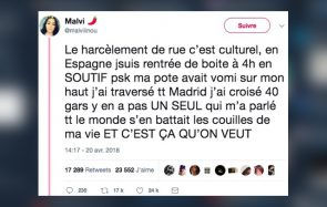 «Le harcèlement de rue, c'est culturel»: un témoignage édifiant