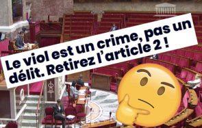 Polémique sur l'article 2de la loi Schiappa: «l'atteinte sexuelle avec pénétration» est retirée de la loi