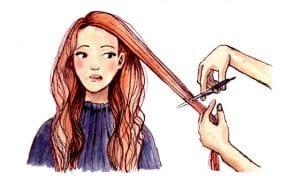 Vos anecdotes, conseils&soins pour cheveux longs illustrés!