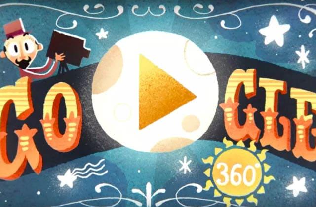 Découvre vite l'épatant Google Doodle interactif d'aujourd'hui, qui rend hommage à GeorgesMéliès