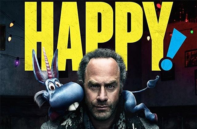 Happy, la série WTF avec une licorne et un Père Noël creepy, mon coup de cœur