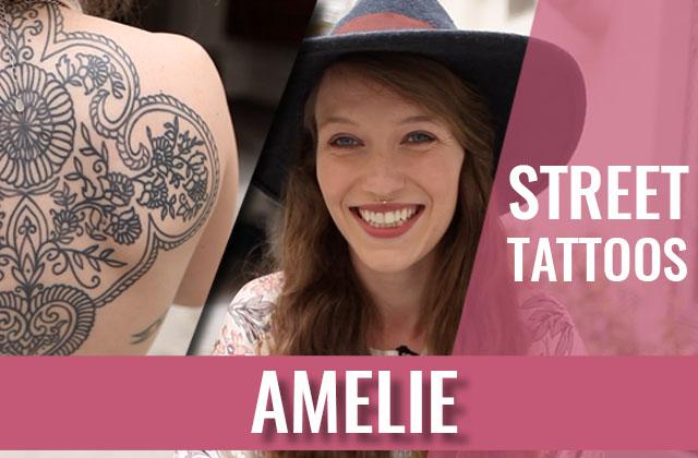 Amélie, l'inventrice des Street Tattoos, de retour avec 9 nouveaux tatouages!