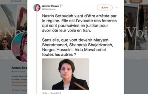 Cette avocate qui défend les femmes vient d'être emprisonnée