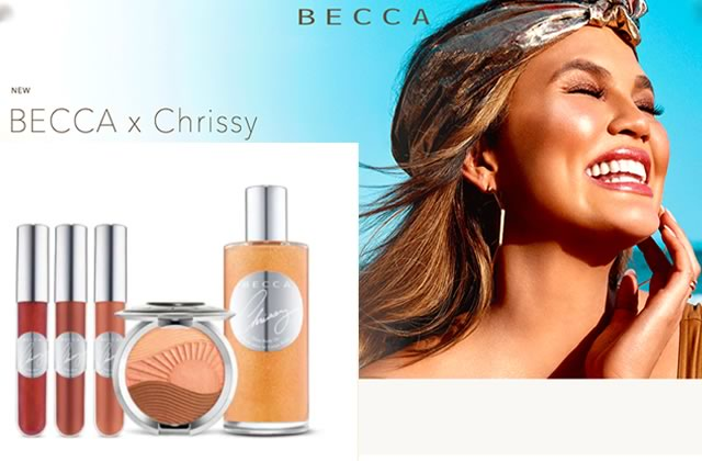 La nouvelle collaboration de Becca et Chrissy Teigen sent bon le sable chaud