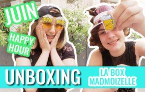 [BOX] Unboxing de la box madmoiZelle sur l'apéro, par Charlie & Mymy!