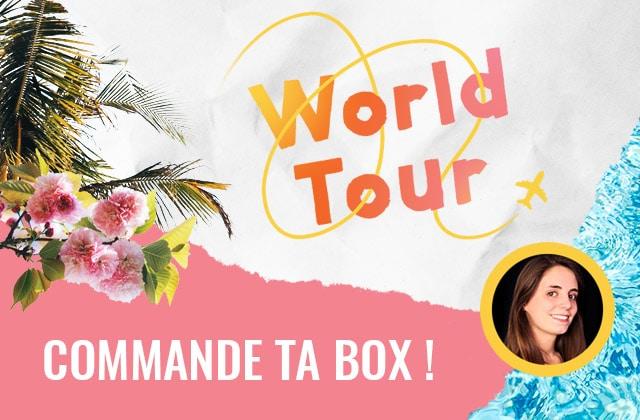 Bientôt sold out : la box «World Tour» par Esther!
