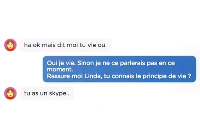 Comment répondre aux messages frauduleux d'inconnus reçus sur Messenger ?